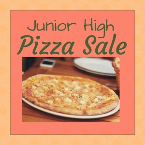 Junior high pizza sale