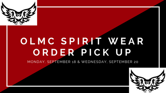 OLMC SPIRIT WEAR PICK UP