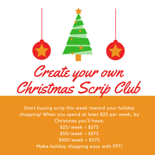 Christmas scrip club 2