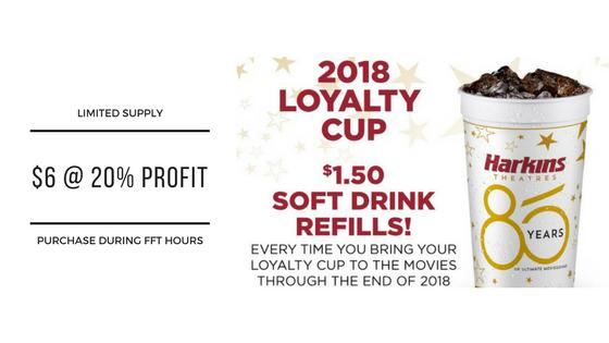 Harkins Cups Ad