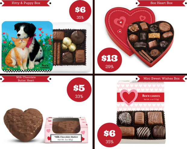 See's Valentine Candy Updated