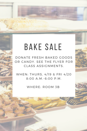 Bake Sale Donations