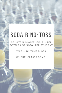 Soda Ring Toss Donations
