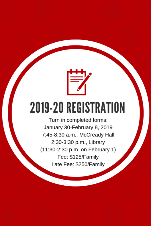 2019-20 registration