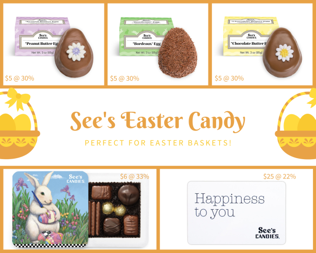 2020 See's Easter Candy pic