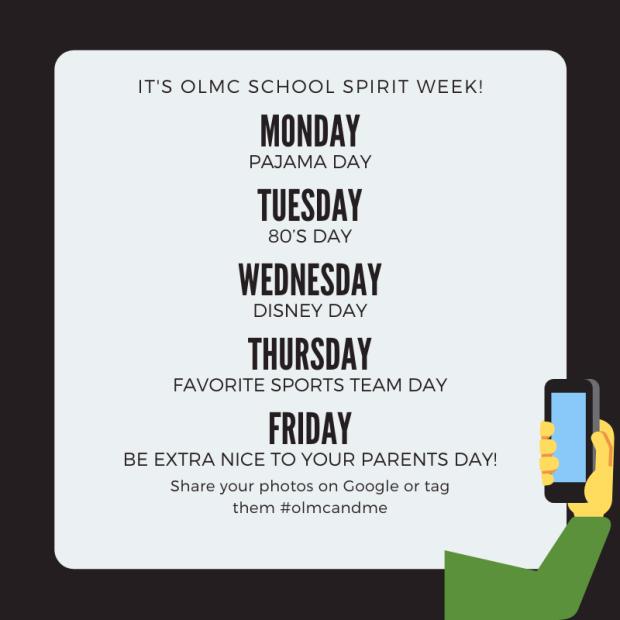 Spirit Week during closure 2020